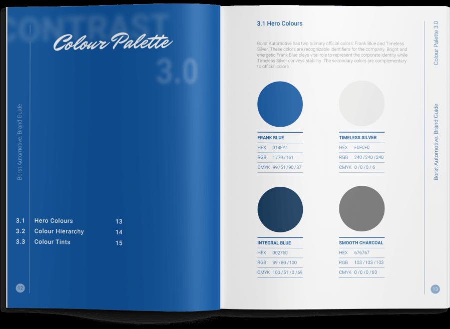 Brand Guide Palette